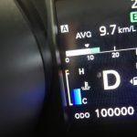 10万キロのメーター