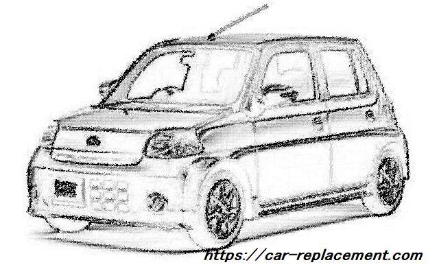 鉛筆で書いた車